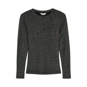Mads Nørgaard Tuba Metallic-weave Jersey Top