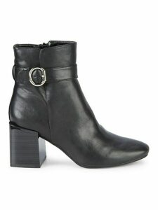 Tenley Faux Leather Heeled Ankle Boots