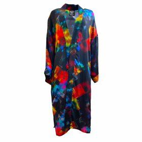 SABINNA - Hazel Jacket Orange Check