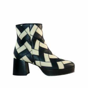 Riona Treacy - Silk Tie Dye Polo Neck Top