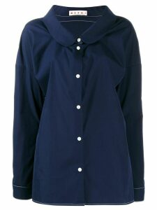 Marni loose button-up shirt - Blue