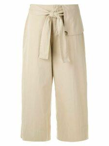 Osklen Cotton Utility culottes - NEUTRALS