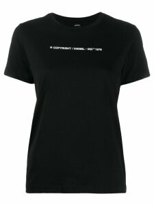 Diesel T-Sily-Copy slim-fit T-shirt - Black