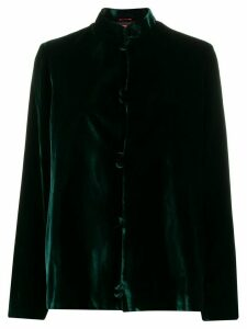 F.R.S For Restless Sleepers mandarin collar shirt - Green