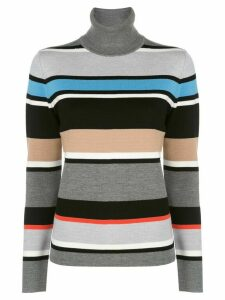 Aztech Mountain Matterhorn turtle neck stripe jumper - Blue