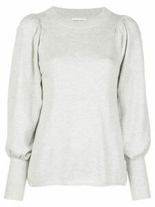 Apiece Apart Dewi puffed-sleeve jumper - Grey