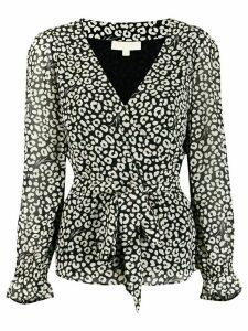 Michael Michael Kors tie waist blouse - Black