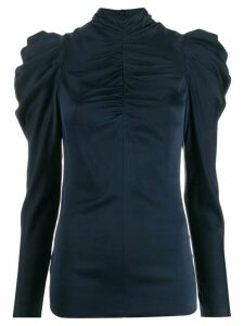 Zimmermann Espionage Drape top - Blue