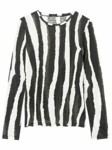 Proenza Schouler striped longsleeved T-shirt - Black