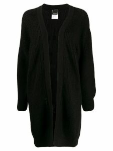 Pinko long-line cardigan - Black
