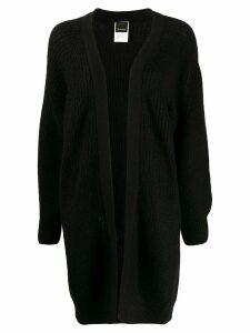 Pinko long-line cardigan - Black