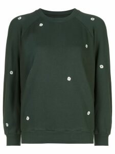 The Great. The Bubble sweatshirt - Green