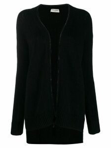 Saint Laurent College cardigan - Black
