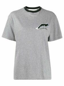 Golden Goose fox patch T-shirt - Grey
