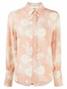 Chloé floral-print shirt - PINK