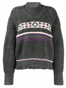 Isabel Marant Caleen jumper - Grey