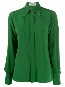 Victoria Beckham pointed collar shirt - Green