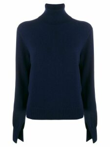Chloé turtleneck knitted jumper - Blue