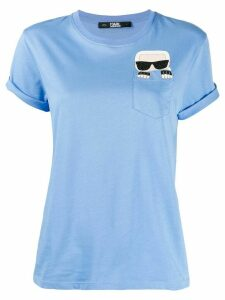 Karl Lagerfeld Ikonik Karl pocket T-shirt - Blue