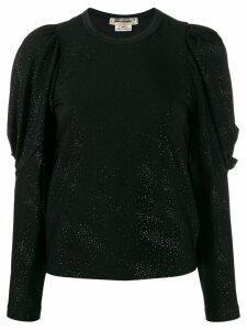 Comme Des Garçons embellished top - Black