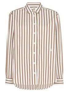 Totême Capri button-down striped shirt - Red