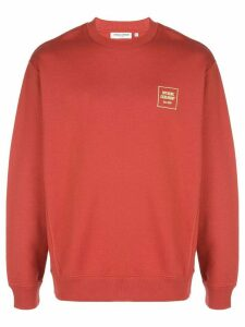 Opening Ceremony mini box logo sweatshirt - Red