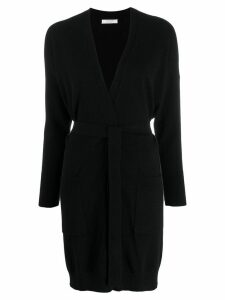 Chinti and Parker longline wrap cardigan - Black