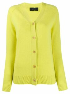 Joseph cashmere buttoned cardigan - Yellow