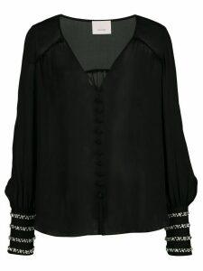 Cinq A Sept Amanda blouse - Black