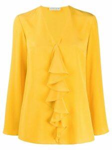 Etro ruffle long sleeve blouse - Yellow