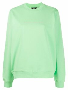 Diesel F-Ang-Copy Copyright logo sweatshirt - Green