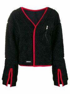 Ambush contrast-trim cardigan - Black