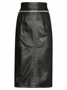 Skiim Vida contrast piping skirt - Black