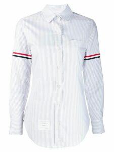 Thom Browne University Stripe Collar Shirt - Grey