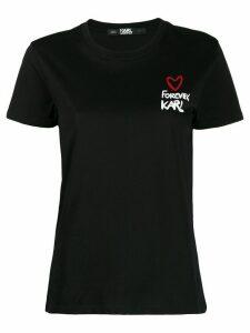 Karl Lagerfeld Forever Karl T-shirt - Black