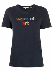 Chinti and Parker digital print T-shirt - Blue