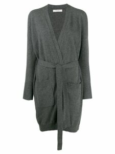 Chinti and Parker belted midi cardigan - Grey