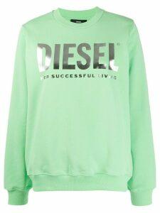 Diesel F-ang logo sweatshirt - Green