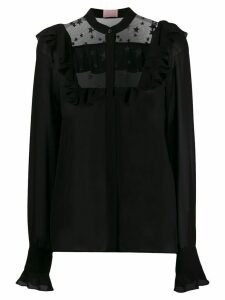 Giamba star embroidered blouse - Black
