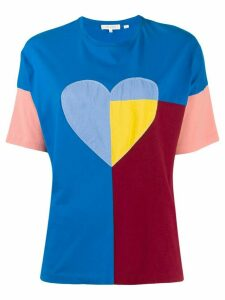 Chinti & Parker heart print T-shirt - Blue