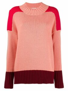 Chinti & Parker chunky ribbed-knit jumper - PINK