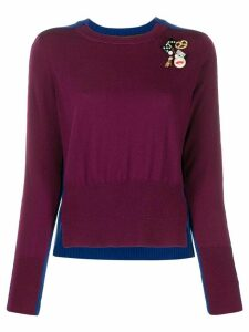 Marc Jacobs DIY two-tone jumper - Red