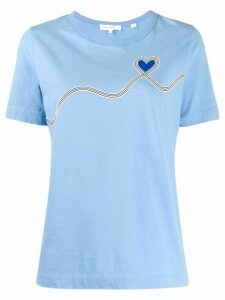 Chinti & Parker logo T-shirt - Blue