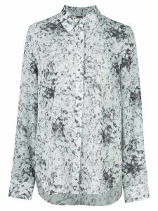 Adam Lippes Babys Breath printed shirt - White