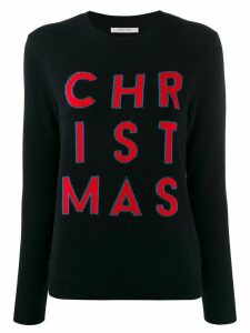 Chinti and Parker 'Christmas' knit jumper - Blue