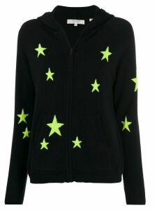 Chinti and Parker cashmere fluorescent star hoody - Blue