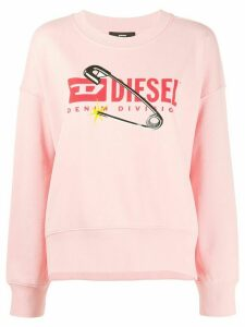 Diesel F-Magda-E relaxed-fit sweatshirt - PINK
