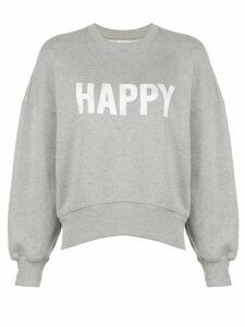 Cinq A Sept Happy sweatshirt - Grey