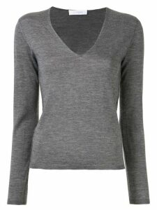 Cruciani V-neck jumper - Grey