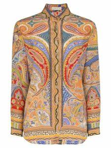 Etro paisley print buttoned shirt - Multicolour